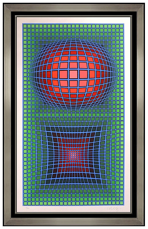 """Optical"" by Victor Vasarely"