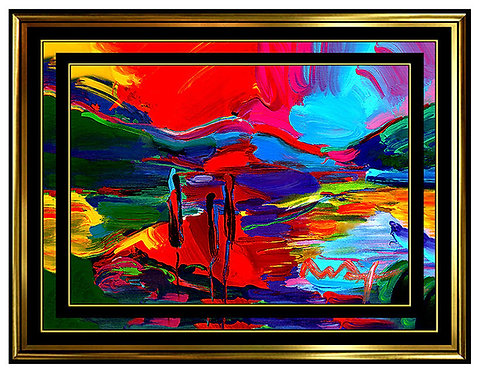 """Original Autumn"" by Peter Max"