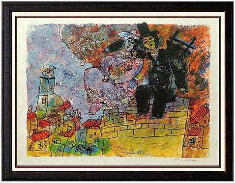 """""""La Bergere et la Ramoneur"""" by Theo Tobiasse"""