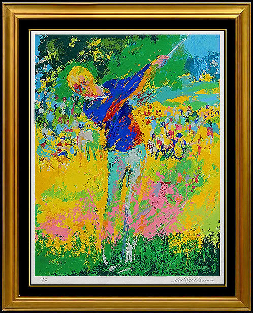 """Tee Shot (Jack Nicklaus)"" by Leroy Neiman"