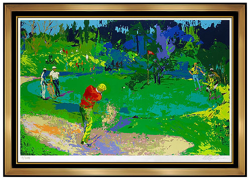 """Golf's Threesome (Trevino, Nicklaus, Palmer)"" by Leroy Neiman"