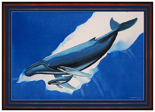 """Born in the Pacific Original"" by Robert Wyland"