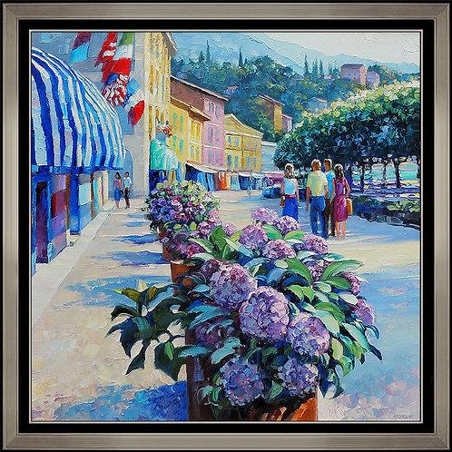 """""""Original Village Market"""" by Howard Behrens"""