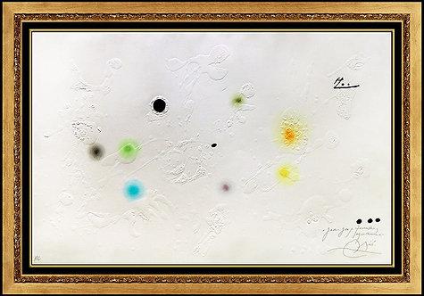"""""""Barcelona, Plate 9"""" by Joan Miro"""