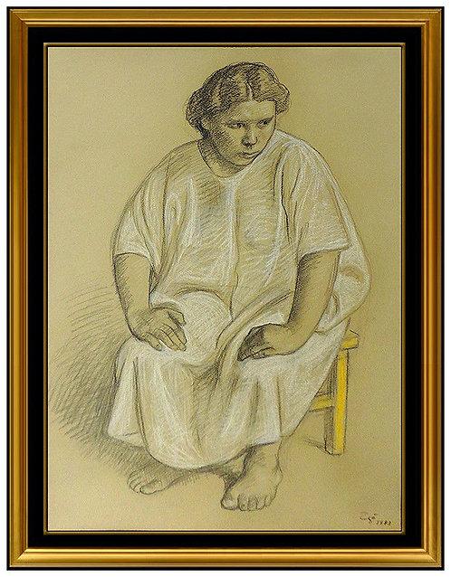 """""""Original Mujer en la Silla"""" by Francisco Zuniga"""