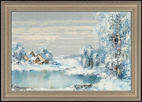 """Original Winter Wonderland"" by Willi Bauer"
