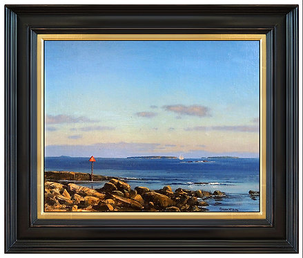 """Original Offshore Islands Along the Maine Coast"" by Joesph McGurl"