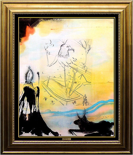 """""""Engulfment of Horus"""" by Salvador Dali"""