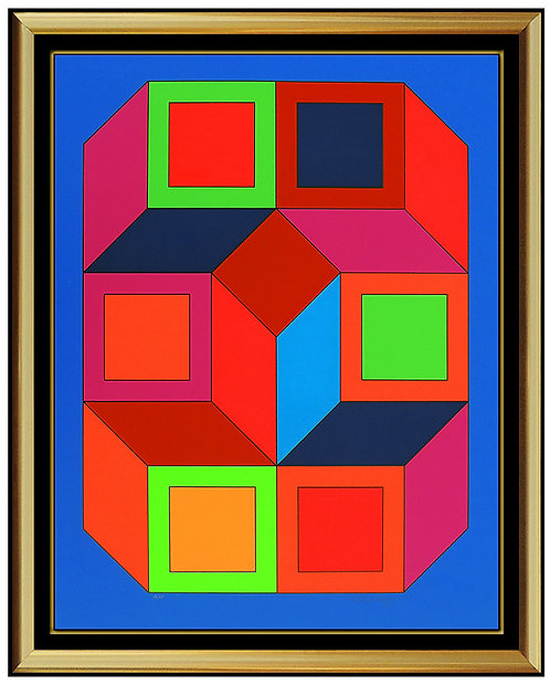 """XICO 4"" by Victor Vasarely"