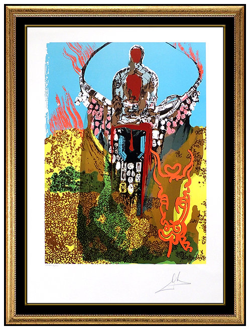 """""""The Bullfighter"""" by Salvador Dali"""