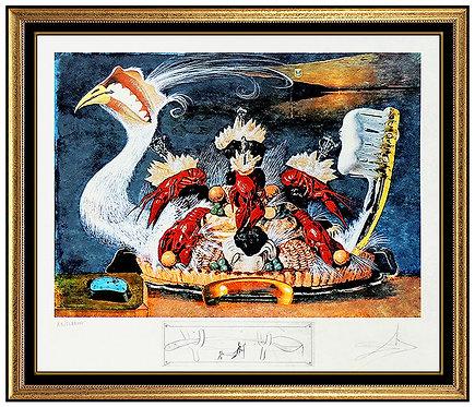 """""""L'Ativisme Desoxyribonucleique"""" by Salvador Dali"""