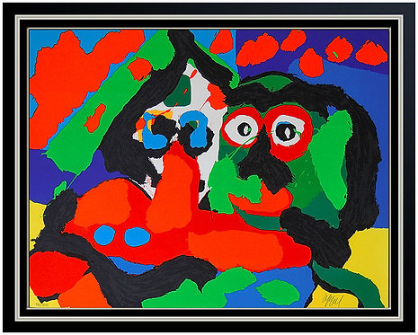 """Abstract Pig"" by Karel Appel"
