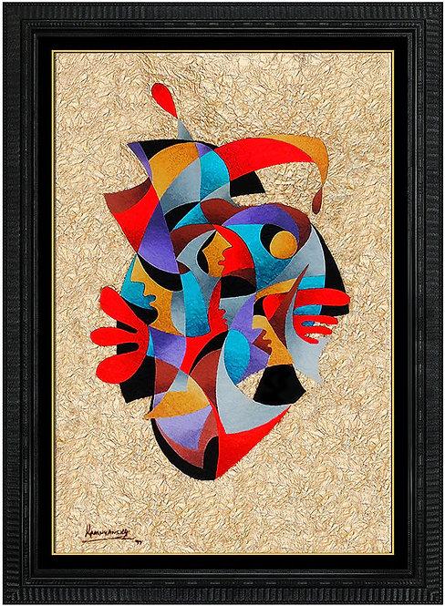 """""""Original Golden Jester"""" by Anatole Krasnyansky"""