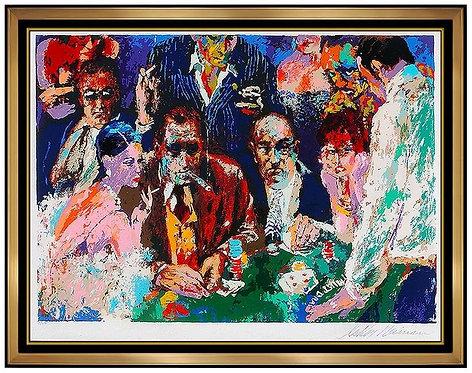 """Vegas Blackjack"" by Leroy Neiman"