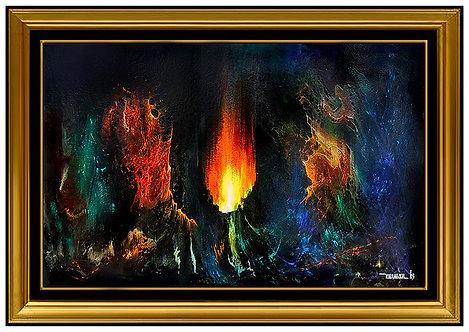 """""""Original Fuego Magico"""" by Leonardo Nierman"""