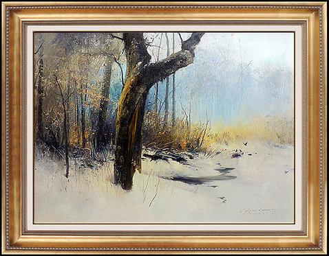 """Winter Wood Original"" by Michael Coleman"