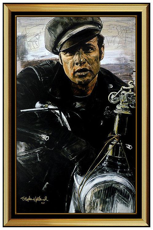 """The Rebel - Marlon Brando"" by Stephen Holland"
