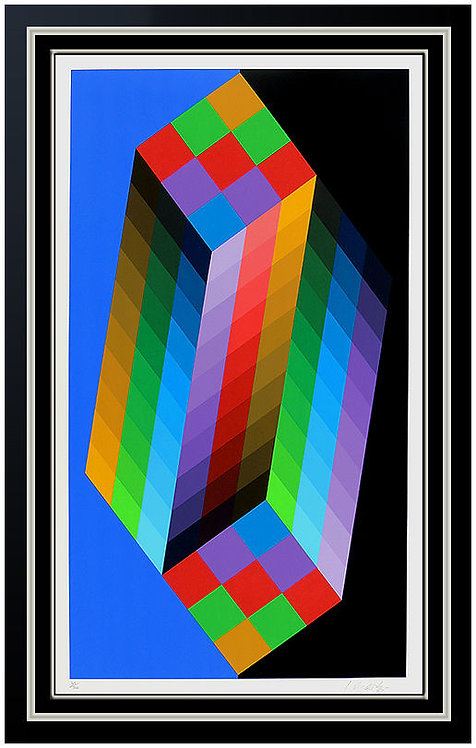 """Torony III"" by Victor Vasarely"