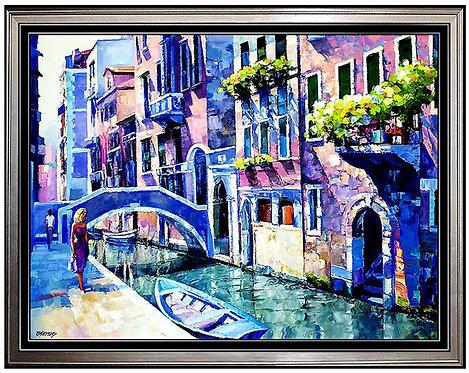 """Venice Waters"" by Howard Behrens"