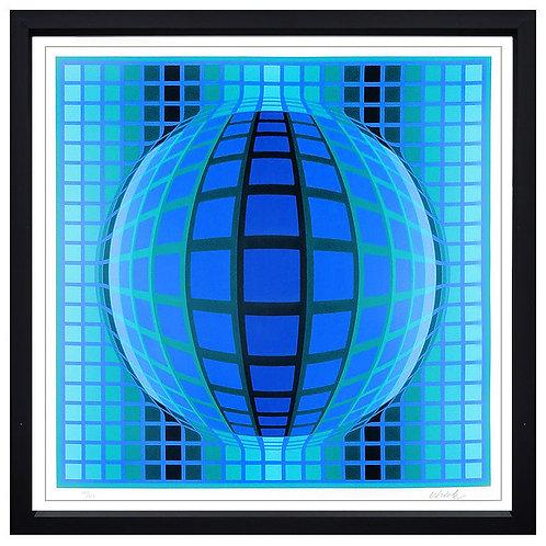 """""""Detvoe"""" by Victor Vasarely"""
