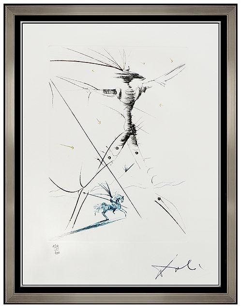 """La Petit Chevalier"" by Salvador Dali"