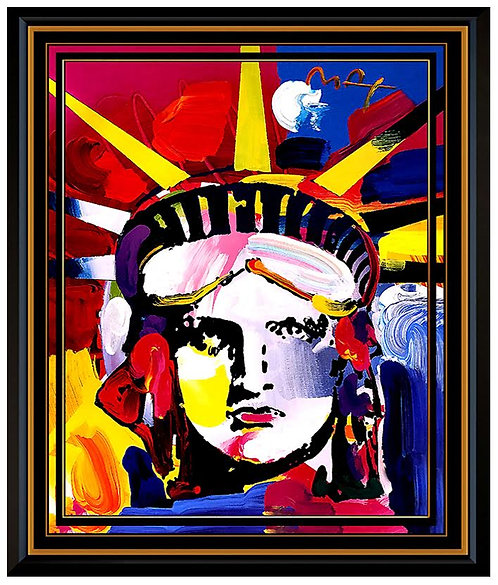 """""""Delta"""" by Peter Max"""