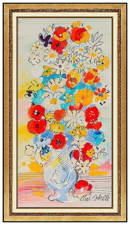 """""""Original Floral Bouquet"""" by Charles Cobelle"""