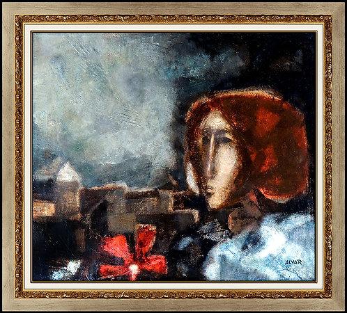 """Original Rosa Roja"" by Sunol Alvar"