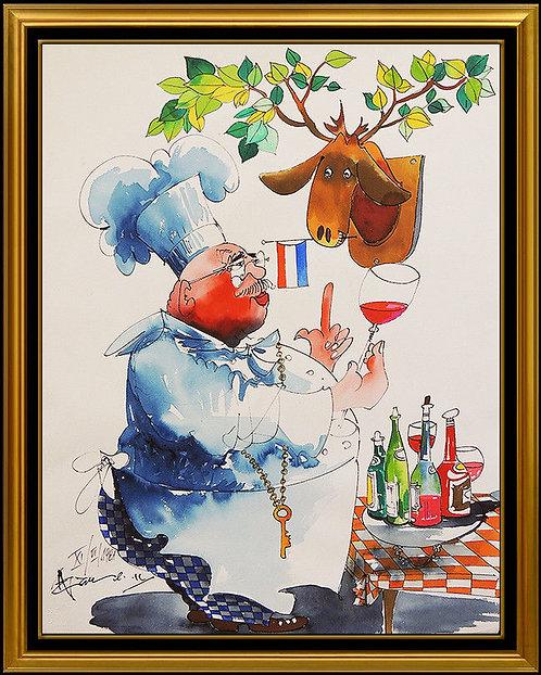 """""""Original French Quarter"""" by Leo Meiersdoff"""