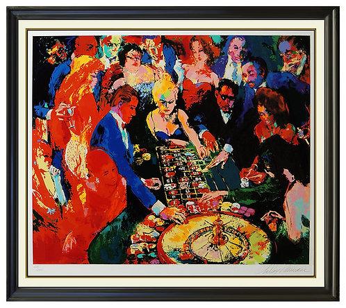 """""""Roulette II"""" by Leroy Neiman"""