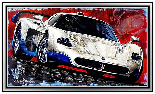 """Maserati MC12 Supercar"" by Stephen Holland"