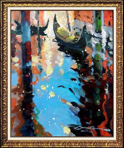 """Original Venice Reflections"" by James Coleman"
