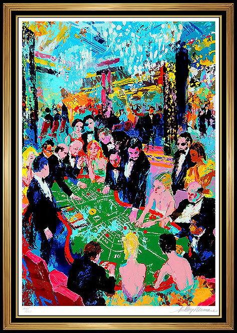 """Baccarat"" by Leroy Neiman"