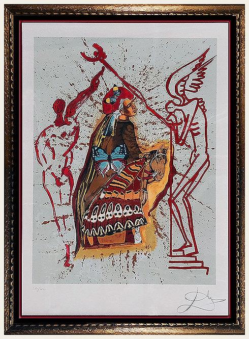 """""""Pilgrim's Journey"""" by Salvador Dali"""