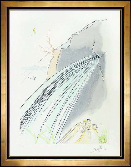 """""""The Rock"""" by Salvador Dali"""