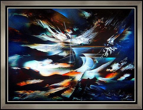 """Phantom Ship Original"" by Leonardo Nierman"