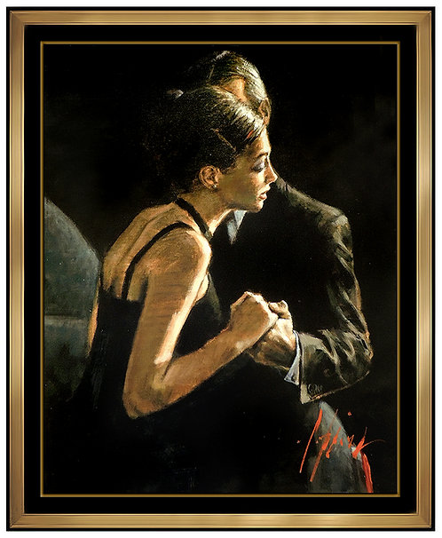 """The Proposal - Hand Embellished"" by Fabian Perez"