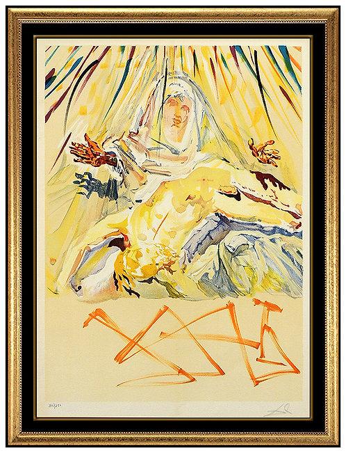 """""""La Pieta Nera"""" by Salvador Dali"""