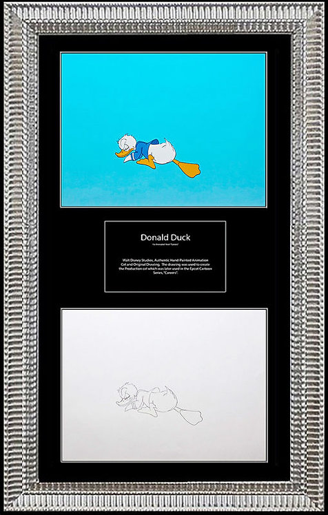 """""""Smelling - Donald Duck, Walt Disney Production Cell"""""""
