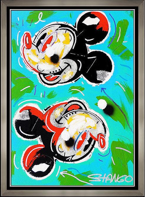 """Original Mickey Shakes the Blues"" by John Stango"