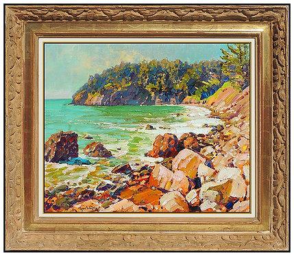 """Original Muir Beach"" by Alan Wolton"