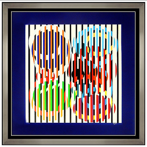 """Kinetic Composition"" by Yaacov Agam"