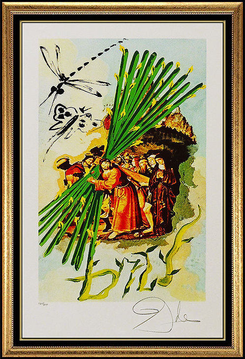 """""""Ten Of Staves"""" by Salvador Dali"""