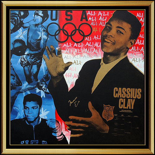 """Muhammad Ali"" by Steve Kaufman"