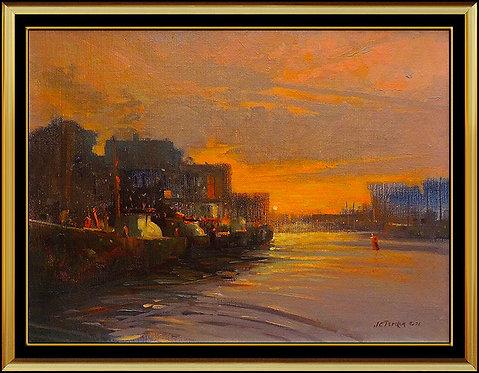 """""""Original Channel of Gloucester"""" by John Terelak"""