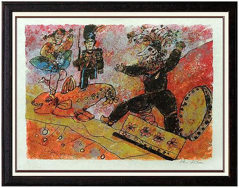 """""""Le Valeureux Petit Soldat"""" by Theo Tobiasse"""