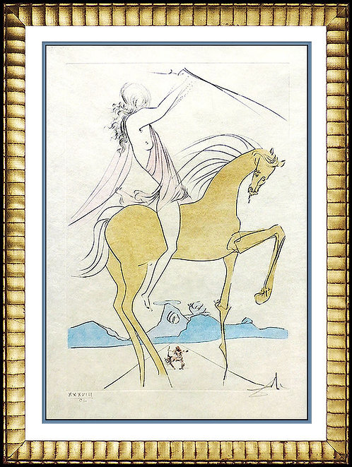 """""""Amazone"""" by Salvador Dali"""