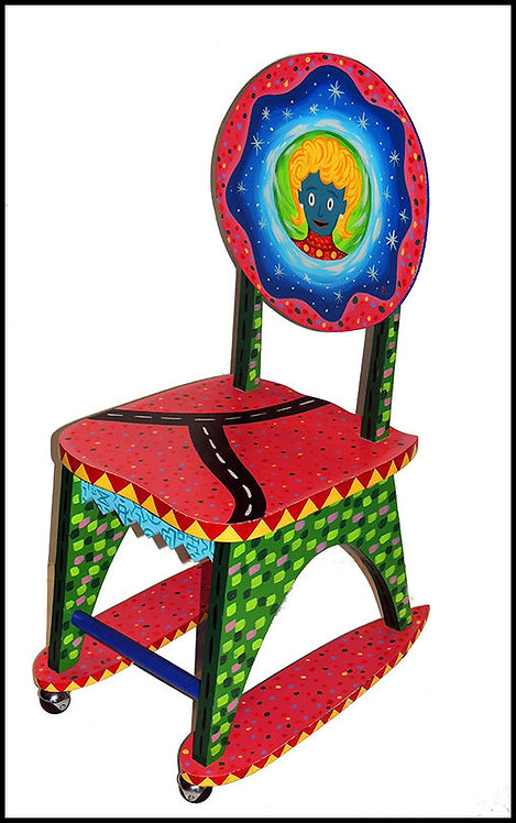 """Original Venus Chair"" by Rodney Alan Greenblat"