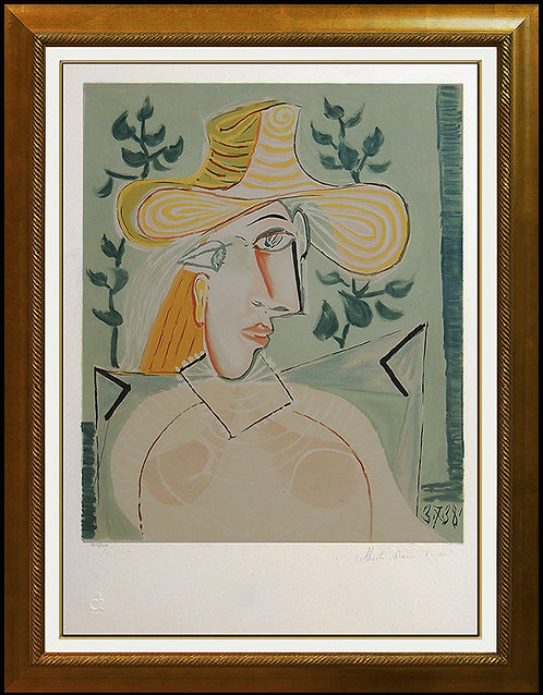 """""""Femme a la Collerette"""" by Pablo Picasso"""