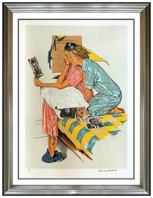 """""""Dreamboats"""" by Norman Rockwell"""